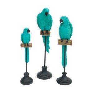 Parrot On Perch (Medium)