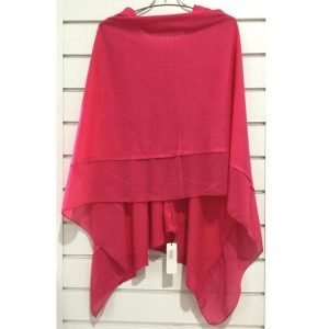 Summer Poncho Hot Pink