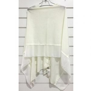 Summer Poncho White