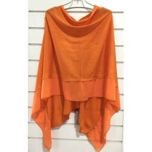 Summer Poncho Orange