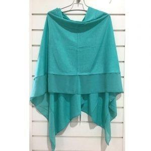 Summer Poncho Turquoise