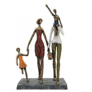 Family Picnic Sculpture