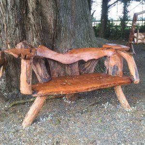 Natural Teak Garden Bench (Large)