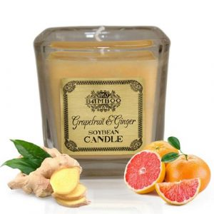 Grapefruit & Ginger Scented Candle