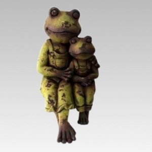 Ornamental Standing Frog