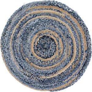 Circular Denim Rug