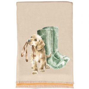 Puppy & Boots Scarf