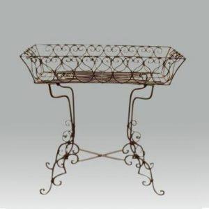Decorative Metal Plant Table