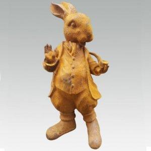 Cast Iron Standing Rabbit