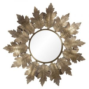 Circular Mirror Leaf Design