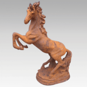 Cast Iron Prancing Horse