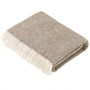 Diamond Merino Lambs Wool Throw