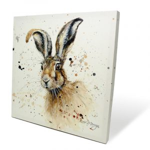 Hugh the Hare Box Canvas