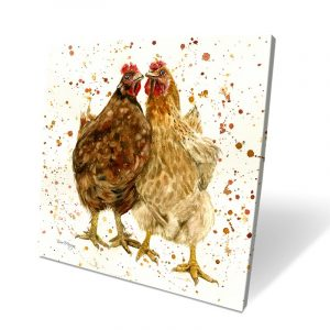 Chick Chat Box Canvas