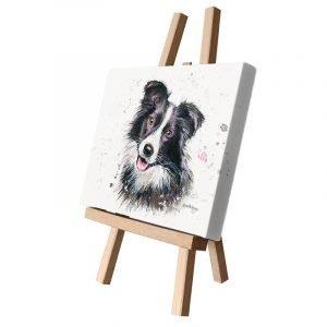 Carson the Collie Small Canvas