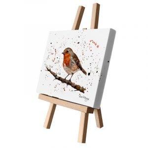 Ralph the Robin Small Canvas