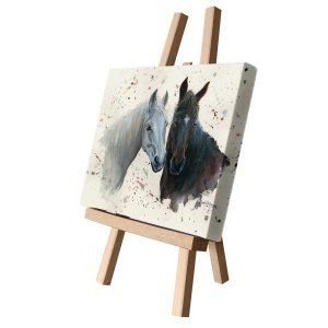 Pebbles & Paloma The Ponies Small Canvas