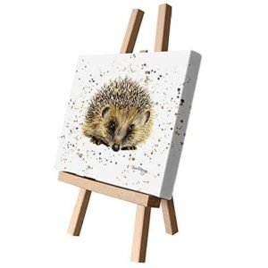 Beatrice the Hedgehog Small Canvas