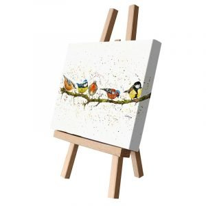 Birds on a Branch Small Canvas