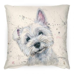 Fergal the Scottie Cushion