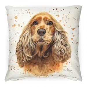 Cara the Cocker Spaniel Cushion