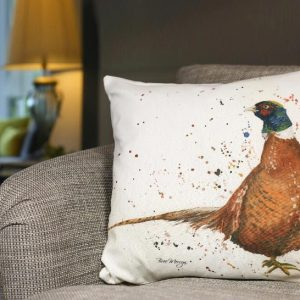 Phelan the Cock Pheasant Cushion