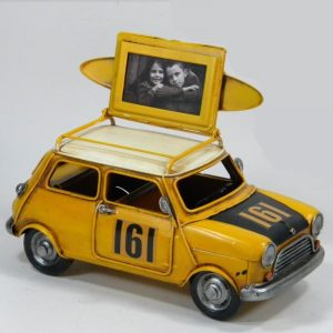 Metal Mini Car With Picture Frame