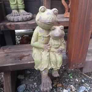 Ornamental Sitting Frogs