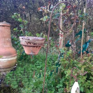 Iron Stick Plant Pot Holder