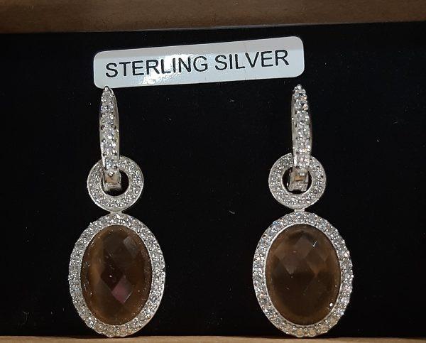 smokey-topaz-earrings