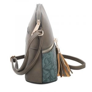 Dark Grey Cross Body Bag