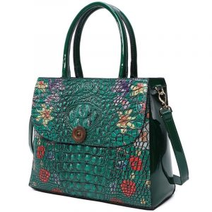 Bottle Green Fashion Bag