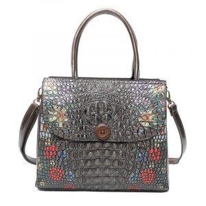 Dark Grey Fashion Bag