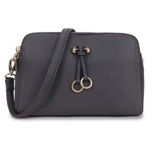 Charcoal Grey Cross Body Bag