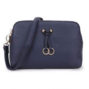 Dark Blue Cross Body Bag