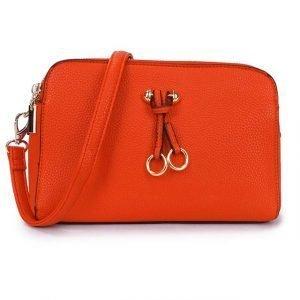 Vivid Orange Cross Body Bag