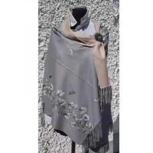 Grey – Cashmere Wrap
