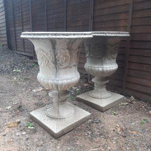 Classic Urn Concrete Garden Planter