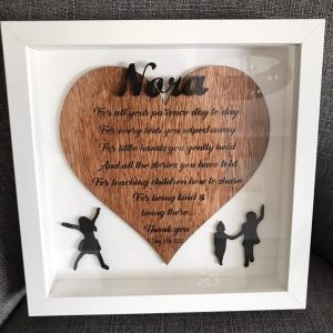 Wooden plaque for every occasion