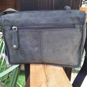Grey/Black Crossbody Handbag