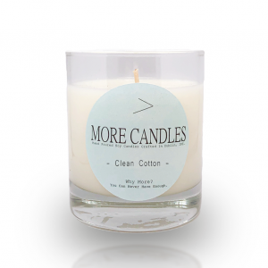 Clean Cotton More Candle