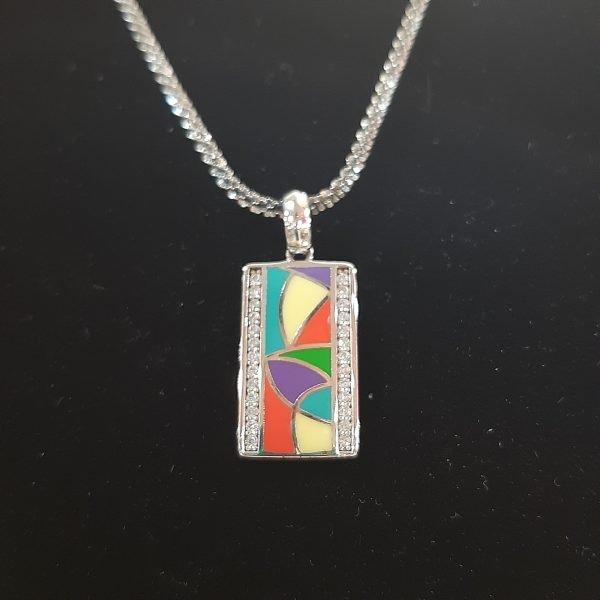 enamel-cz-pendant