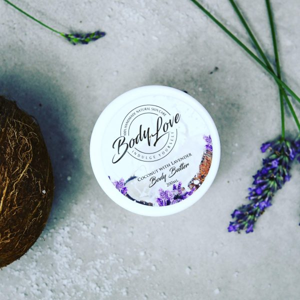 organic body butter - lavendar