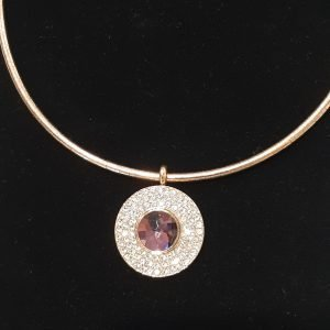 Rose Gold Wire & Pendant