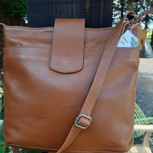 Tan Soft Leather Handbag