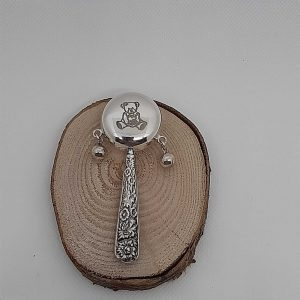 Sterling Silver Baby Rattle