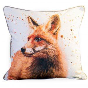 Large Frankie The Fox Cushion