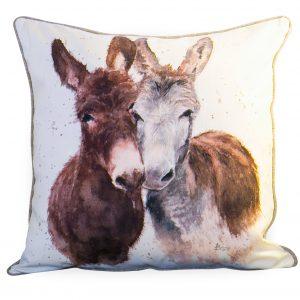 Large Jack and Diane Donkey Cushion